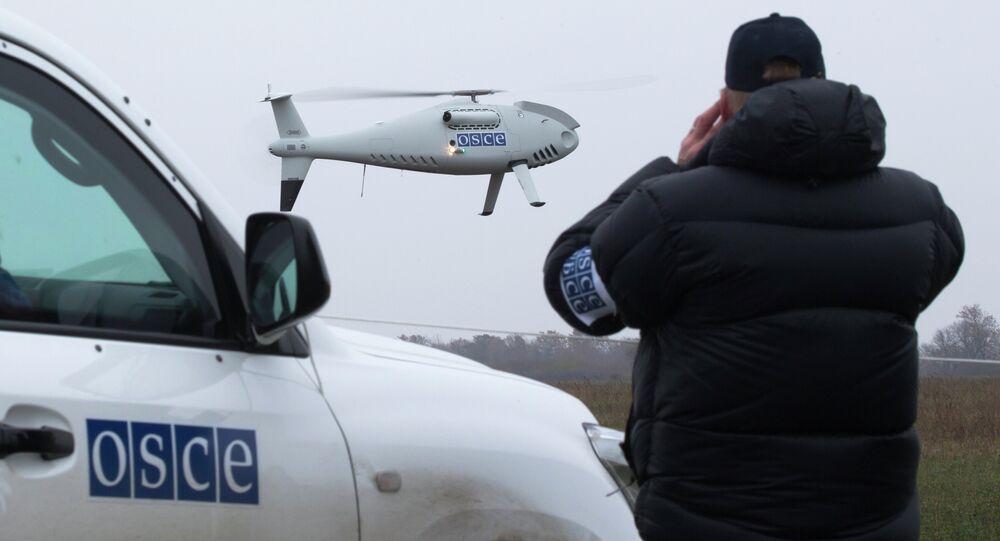 Ispettori dell'OSCE nel Donbass