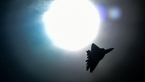 Un caccia russo durante un raid in Siria - Sputnik Italia