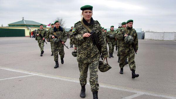Soldati ucraini, Odessa - Sputnik Italia