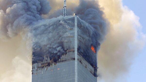 Attentato di Al Qaeda l'11 settembre 2001 al World Trade Center, New York - USA - Sputnik Italia