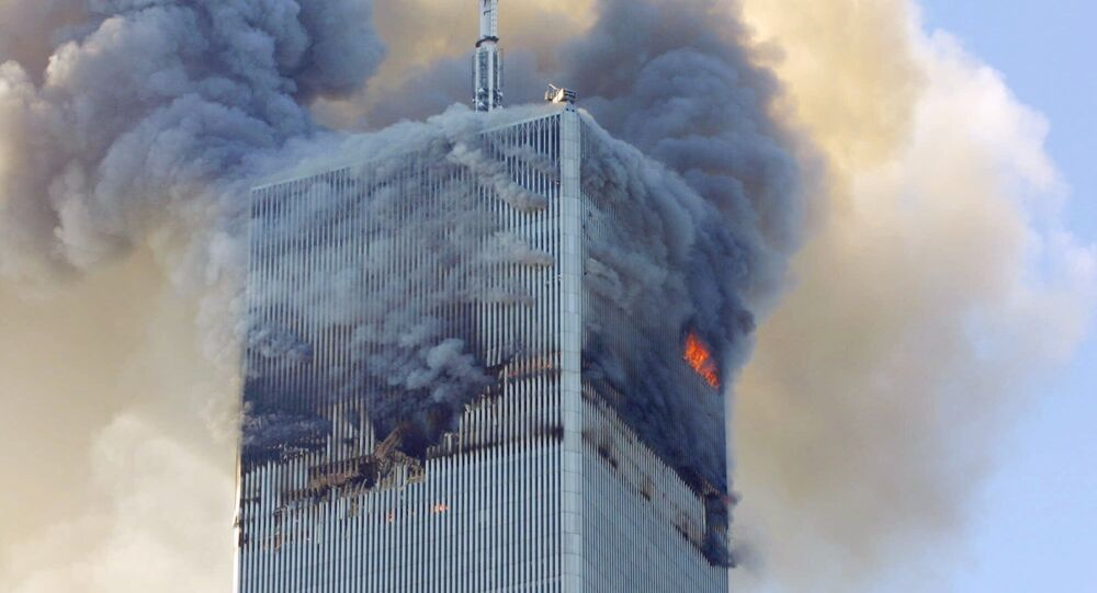 Attentato di Al Qaeda l'11 settembre 2001 al World Trade Center, New York - USA