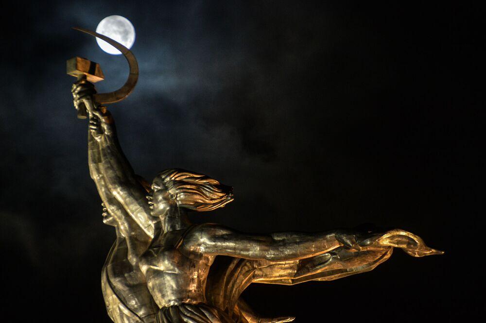 Superluna a Mosca