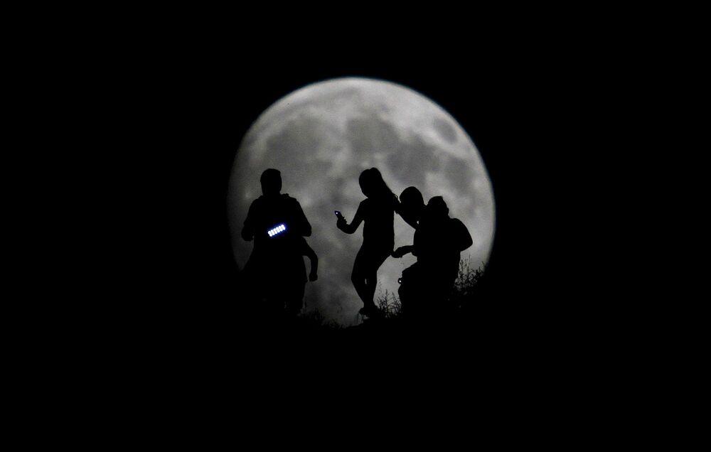 Superluna in Messico