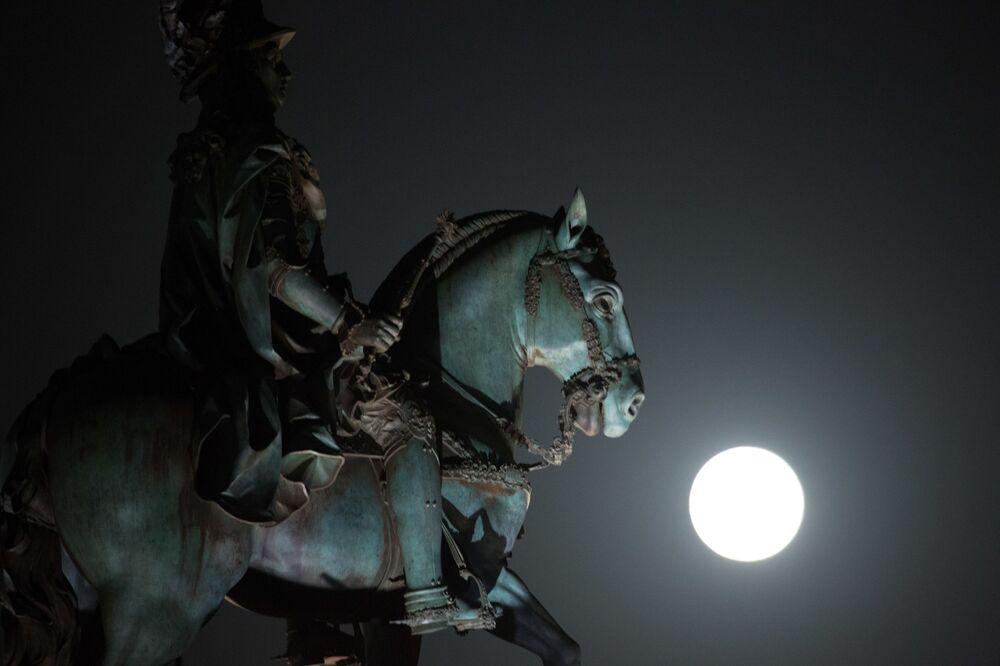 Superluna in Portogallo