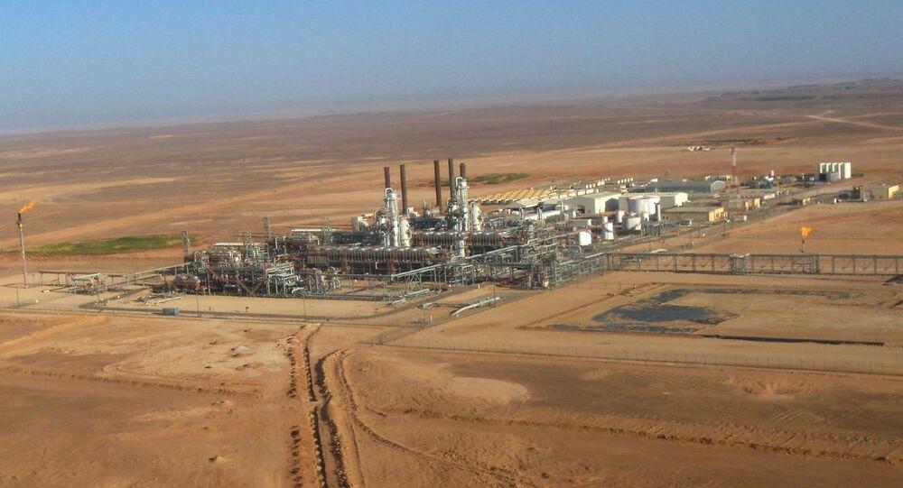 Estrazione del gas neturale in Algeria