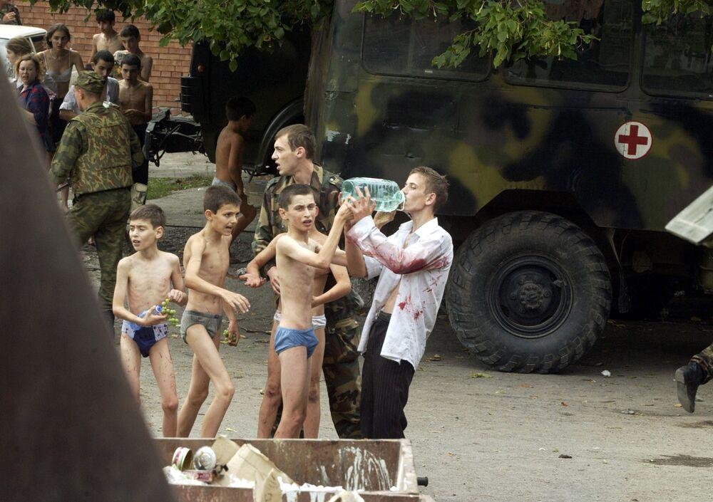 Ostaggi sopravvissuti all'attentato di Beslan