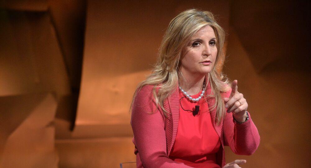 Lisa Ferrarini, Vice Presidente di Confindustria per l'Europa.