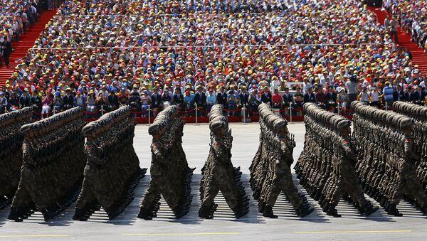Parata militare della Vittoria a Pechino, Cina - Sputnik Italia