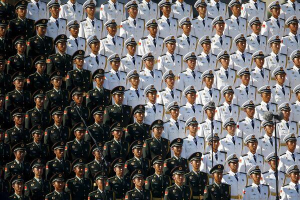 La parata militare della Vittoria a Pechino. - Sputnik Italia