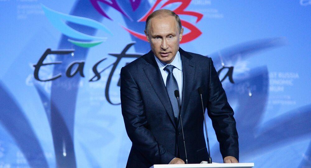 Vladimir Putin al Forum Economico Orientale a Vladivostok. (foto d'archivio)