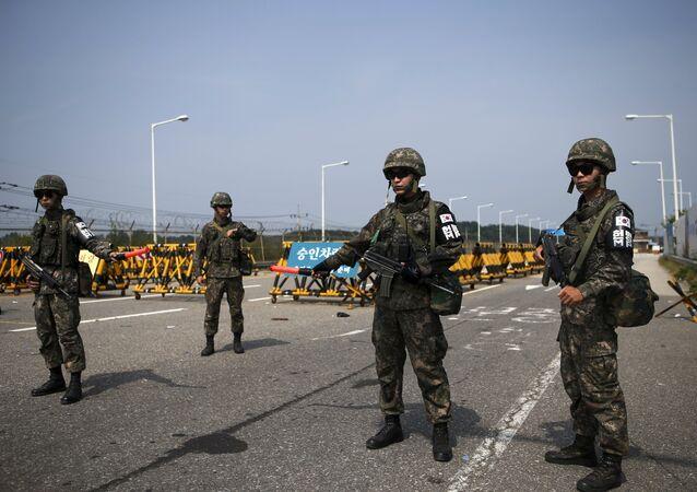 I soldati della Corea del Sud