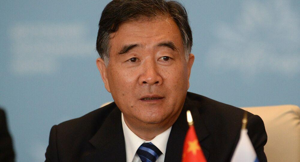 Wang Yang, il vicepremier del Consiglio di Stato della Repubblica popolare Cinese