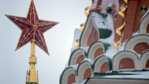 The star on the Spasskaya Tower of the Moscow Kremlin - Sputnik Italia