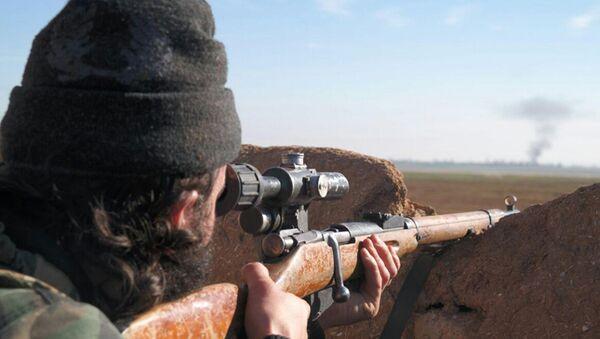 Il militante jihadista dello Stato Islamico - Sputnik Italia