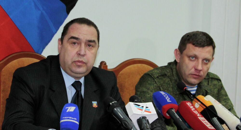 Igor Plotnitsky ed Alexander Zakharchenko