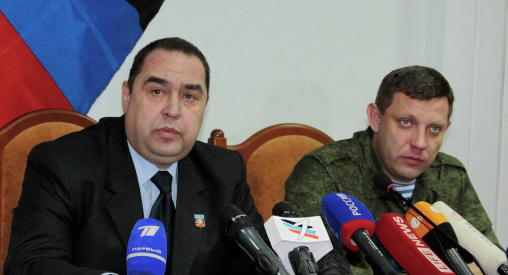Igor Plotnitsky e Alexander Zakharchenko
