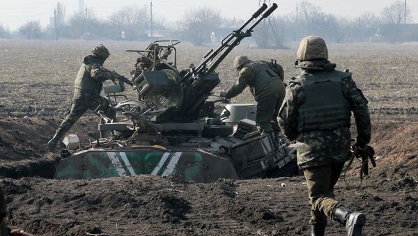 Soldati ucraini nel Donbass - Sputnik Italia