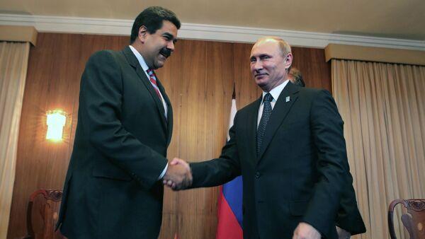 Nicolas Maduro e Vladimir Putin - Sputnik Italia