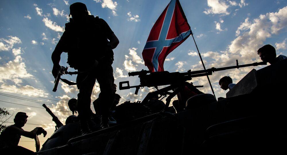 Filorussi del Donbass (foto d'archivio)