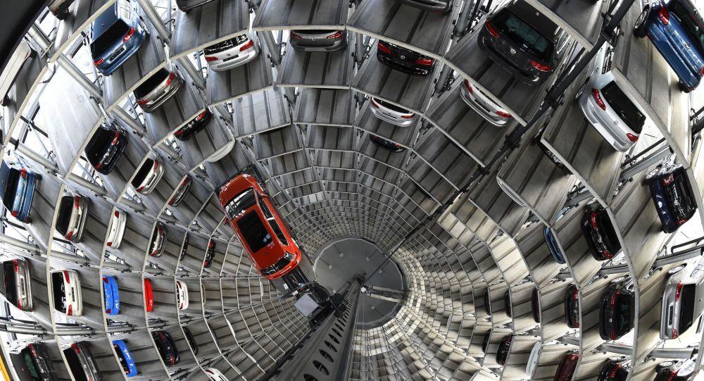 Allo stabilimento di Volkswagen