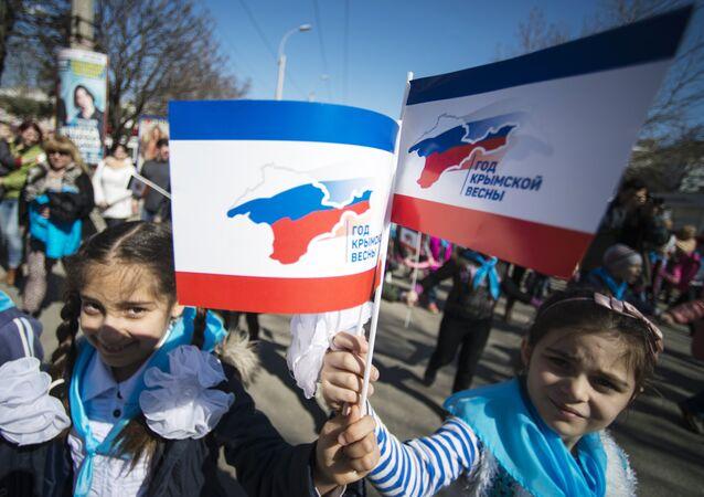 Crimea, i festeggiamenti per il primo anniversario della riunificazione con la Russia