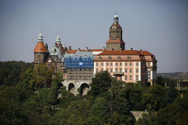 Il Castello di Książ nella città di Wałbrzych in Polonia. - Sputnik Italia