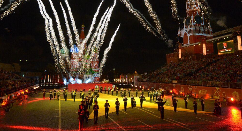 Celebrazioni festa di Mosca