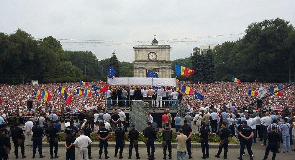 Proteste in Moldavia