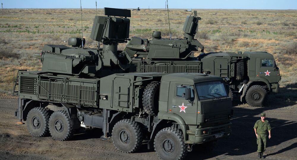 Sistema missilistico russo Pantsir-S1
