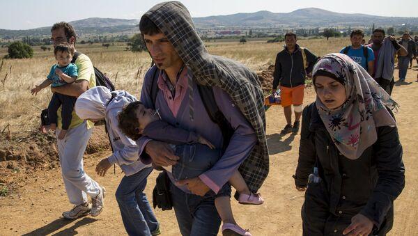 Profughi siriani - Sputnik Italia