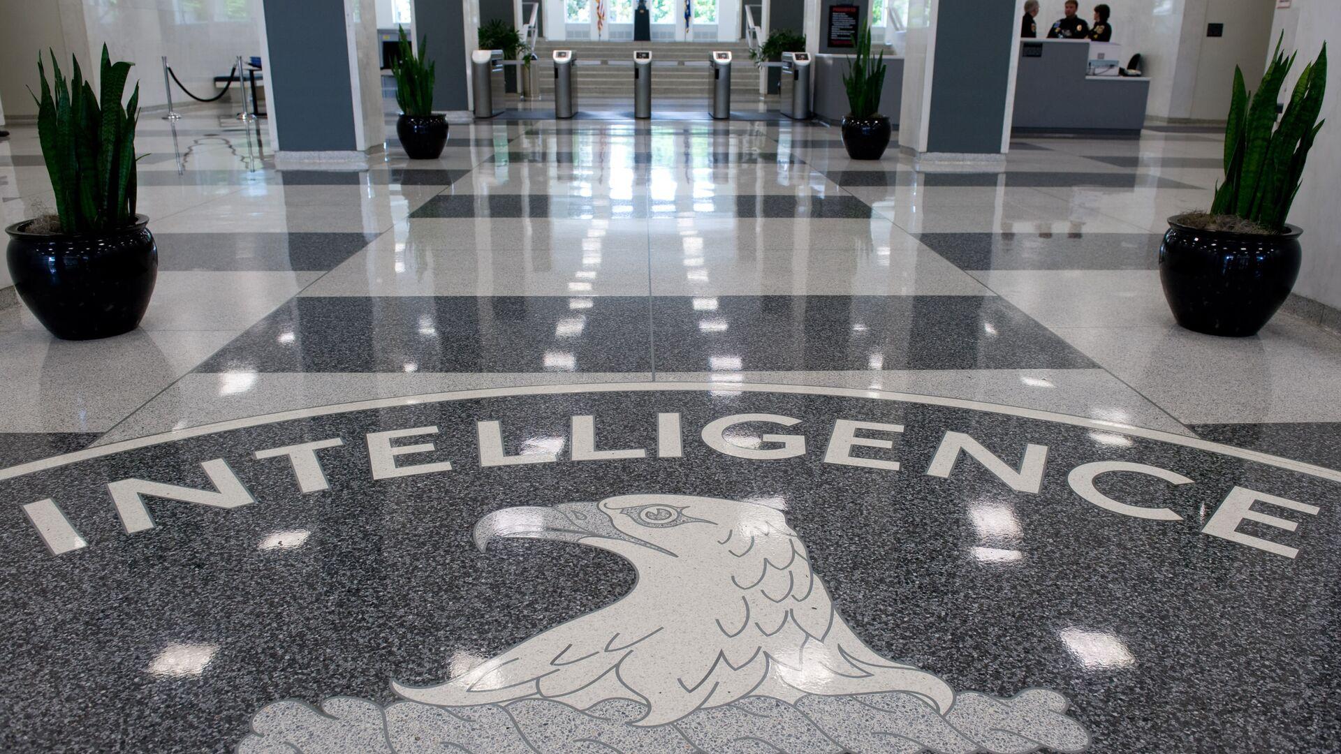 Logo della CIA nel quartier generale di Langley, Virginia - Sputnik Italia, 1920, 24.08.2021
