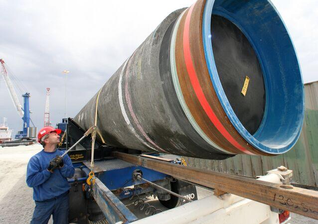 Costruzione del gasdotto Nord Stream