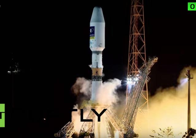 Lancio Soyuz
