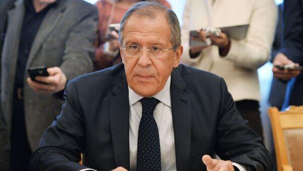 Il ministro degli Esteri della Russia Sergey Lavrov - Sputnik Italia