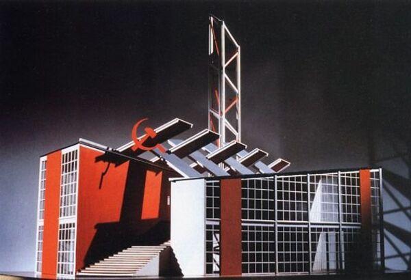 Il progetto del padiglione sovietico all'Esposizione Universale di Parigi 1925 - Sputnik Italia