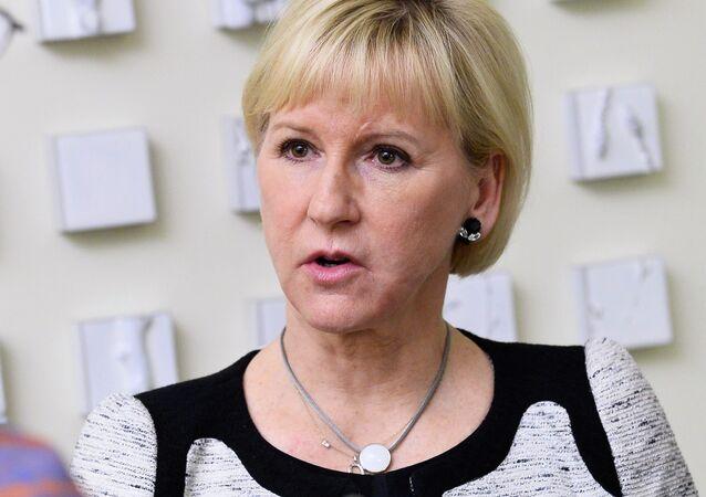 Margot Wallstrom, ministro degli Esteri svedese
