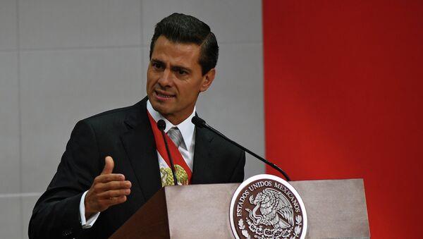 Il presidente messicano Enrique Pena Nieto. - Sputnik Italia