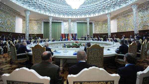 Vertice CSTO a Sushanbe, in Tagikistan - Sputnik Italia