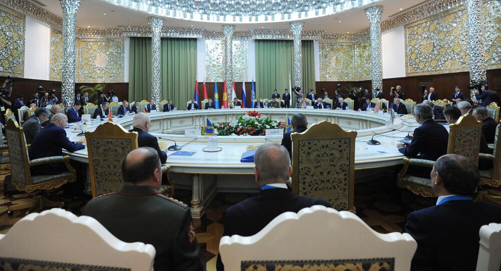 Vertice CSTO a Sushanbe, in Tagikistan