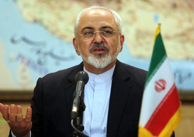 Il ministro degli Esteri iraniano, Mohammad Javad Zarif