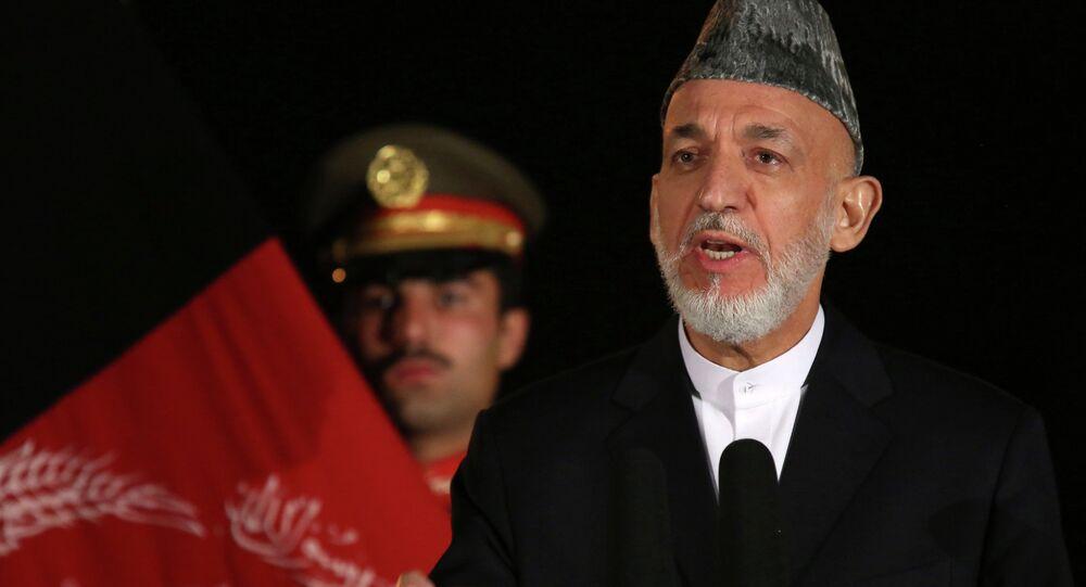Hamid Karzai, ex presidente afgano