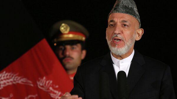 Hamid Karzai, ex presidente afgano - Sputnik Italia