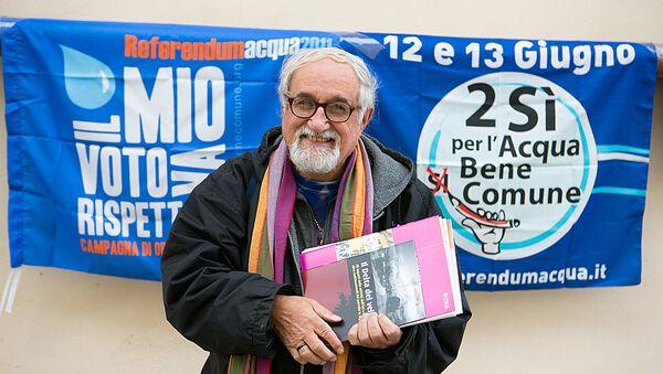Padre Alex Zanotelli - Sputnik Italia