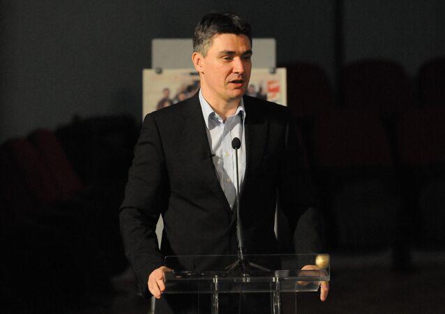 Zoran Milanović, il primo ministro croato