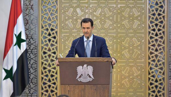 Il presidente siriano Bashal al-Assad. - Sputnik Italia