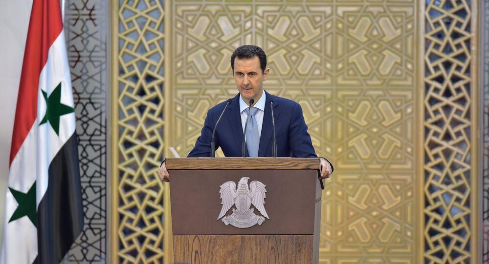 Il presidente siriano Bashal al-Assad.