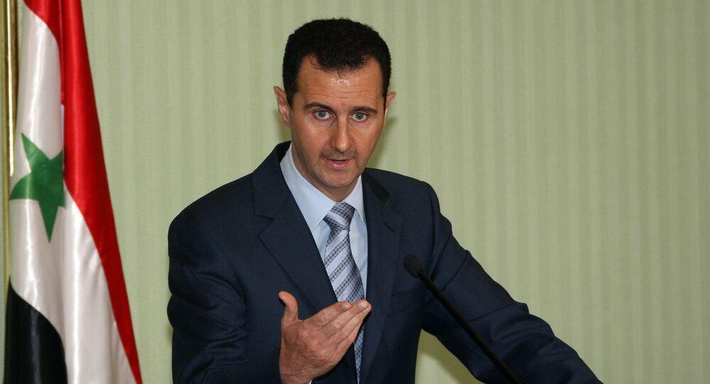 Bashar Assad (foto d'archivio)