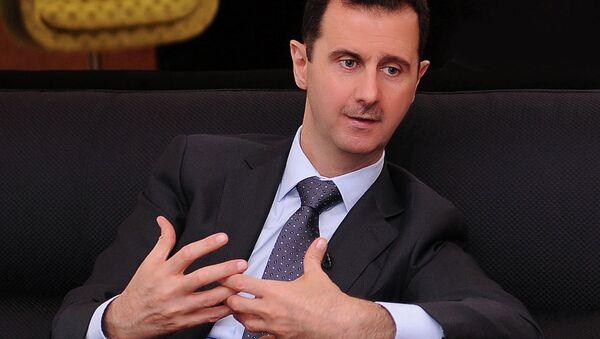Il presidente siriano Bashar al-Assad. - Sputnik Italia