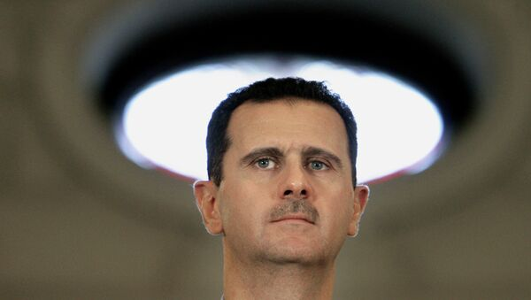 Con la visita a sorpresa di Bashar el Assad a Mosca l'iniziativa militare della Russia si converte e si duplica in iniziativa diplomatica. - Sputnik Italia