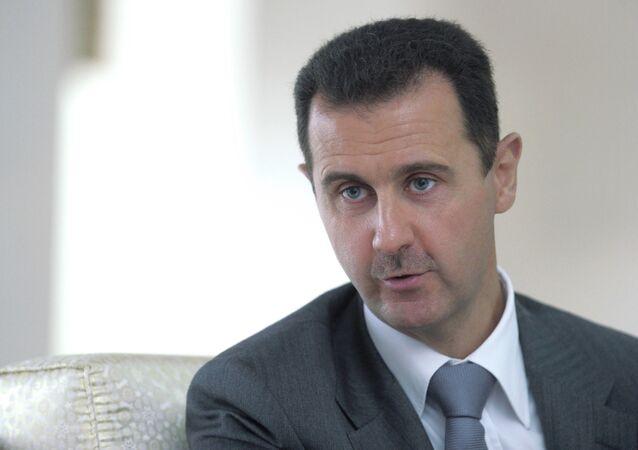 Il presidente siriano Bashar al-Assad.